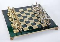 Шахматы Manopoulos 670012 44х44 см бронзовые