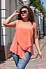 Блуза женская Уголок в расцветках 36928