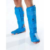 Защита голени и стопы Tokaido WKF синяя