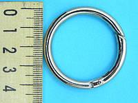 Кольцо металлическое с карабином