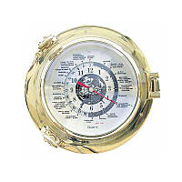 Часы Sea Club 550123 22х22 см. латунные