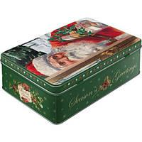 """Коробка для хранения """"Santa Clouse"""" Nostalgic Art (30738)"""