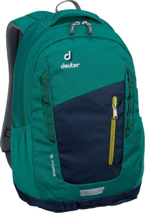 Рюкзак городской Deuter StepOut 16 navy-alpinegreen (3810315 3231)