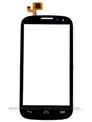Тачскрин (сенсор) Alcatel 5036 One Touch POP C5, black (чёрный), фото 2