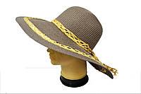 Женская шляпа Кристина с широкими полями