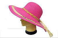 Женская шляпа Кристина розового цвета