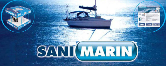 купить компакт-измельчитель для яхты sanimarin