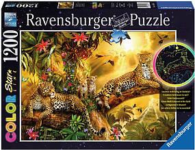 Ravensburger Пазл-светящийся Золотой леопард