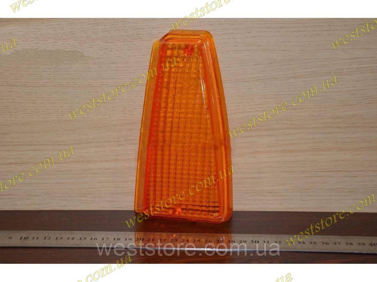 Рассеиватель поворотника (стекло) переднего Ваз 2108  2109 21099 левый желтый
