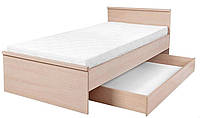 """Ліжко односпальне Нумлок / Numlock BRW / Детская кровать LOZ 90 """"Нумлок"""" 90x200 BRW"""