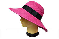Яркая модная женская шляпа