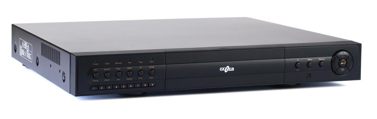 IP-видеорегистратор 4-х канальный Gazer NI404mp