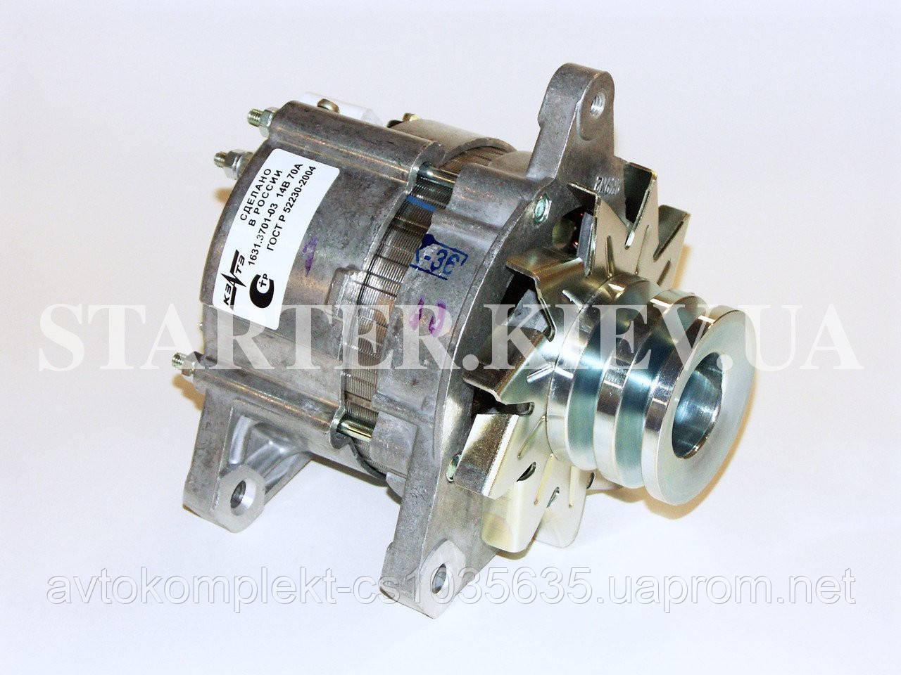 Генератор 1631.3701-03 (ГАЗ) 14V 65A