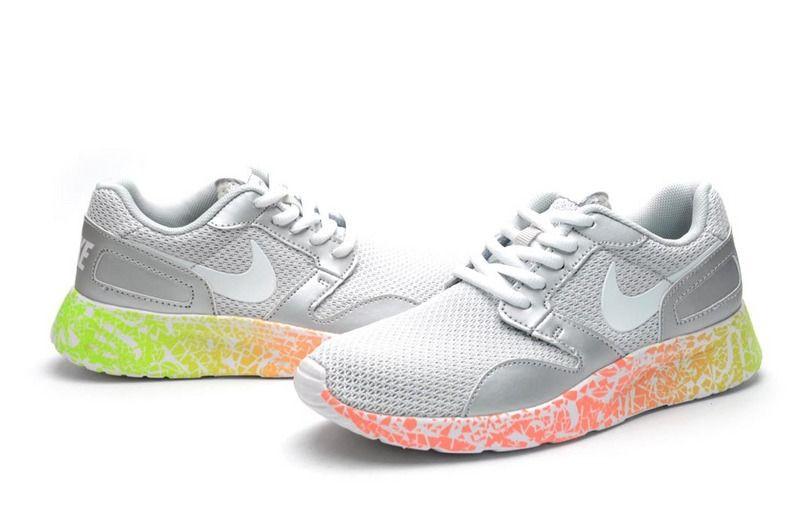 Женские кроссовки Nike Kaishi Run белого цвета