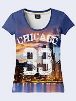 Женская 3D футболка CHICAGO 33