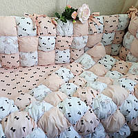 Бортики (бомбон)-защита в детскую кроватку