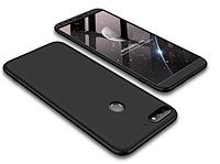 Пластиковая накладка GKK LikGus 360 градусов для Huawei Y5 (2018) / Y5 Prime (2018) / Honor 7A Черный