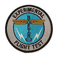 Нашивка Boeing Totem Flight Test Patch 585085020028 (Grey)