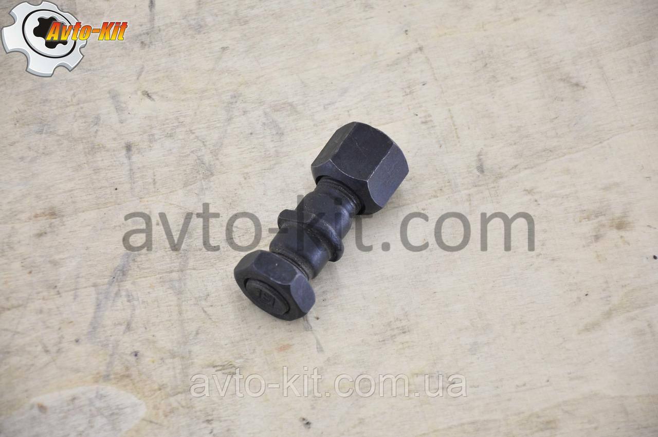 Шпилька, гайка, контргайка колесная Передняя Правая FAW 1031, 1041 ФАВ 1041 (3,2 л)
