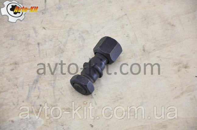 Шпилька, гайка, контргайка колесная Передняя Правая FAW 1031, 1041 ФАВ 1041 (3,2 л), фото 2