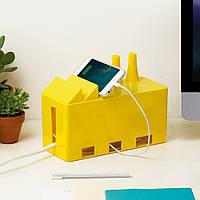 Коробка для кабеля Фабрика проводов, желтая