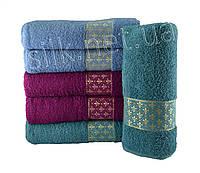 Набір банних рушників Silk, 70х140 см