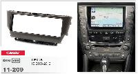 Рамка перехідна Carav 11-209 Lexus IS 06-12 1DIN