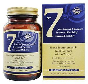Solgar No. 7, для общего комфорта и поддержки суставов 90 капсул (Солгар № 7)