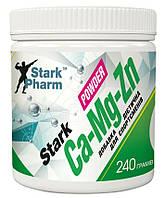 Комплекс минералов Stark Pharm - Calcium Magnesium & Zinc Powder (240 грамм)
