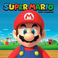 Календарь Super Mario 2019