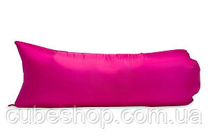 Надувной шезлонг (лежак) Light (розовый)