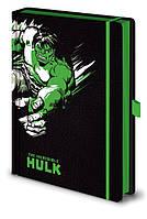 Блокнот  Marvel (Hulk) / Марвел (Халк) A5 premium