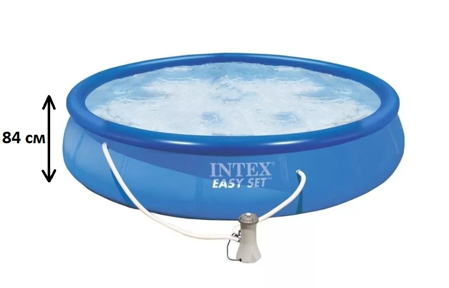Сімейний наливна надувний басейн Easy Set 28158, 457*84