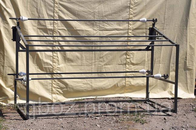 Стеллаж для размотки рулонов ткани , фото 2