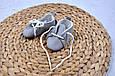Пинетки хлопковые, серые, фото 3