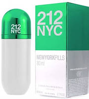 Женский аромат Carolina Herrera 212 NYC NEW YORK PILLS (80 мл)