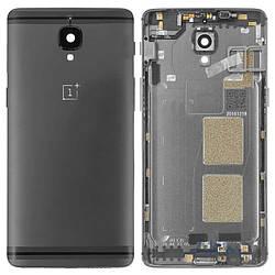Задняя крышка OnePlus 3 (A3003)/3T A3010, черная Оригинал