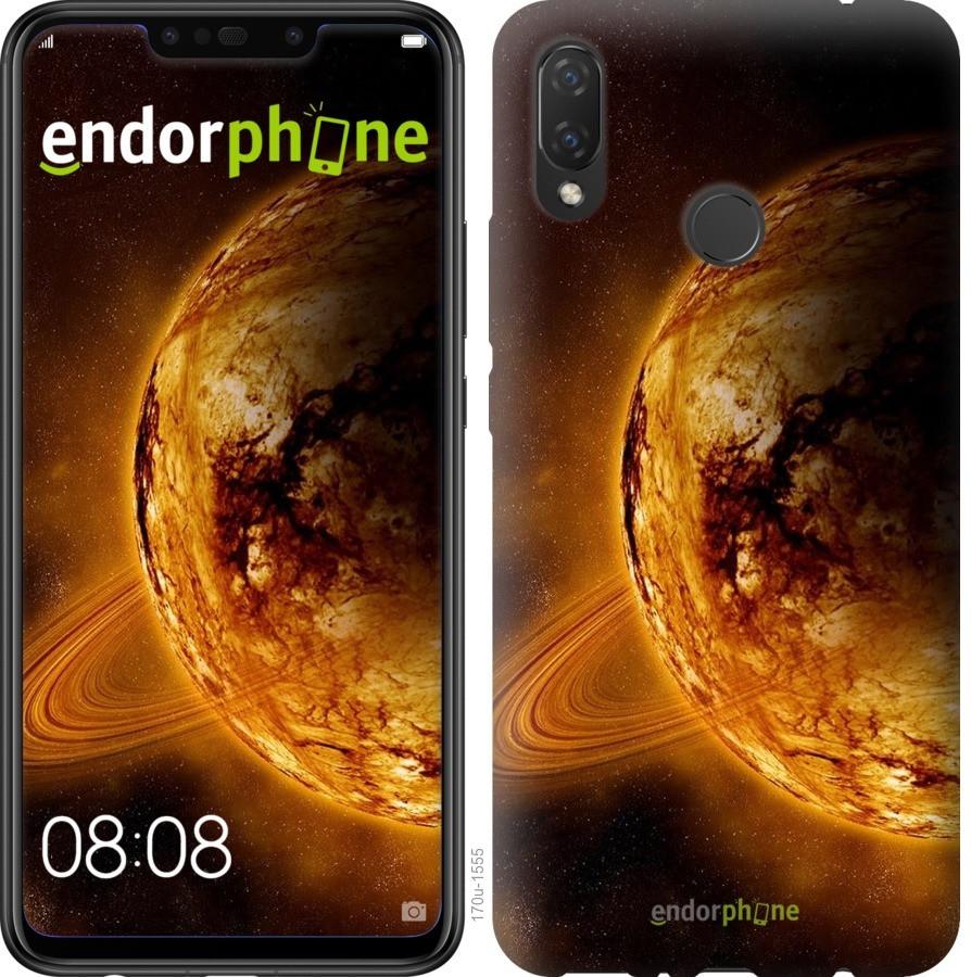 Чехол для телефона Huawei P Smart Plus Жёлтый Сатурн