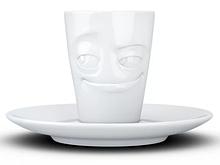 Espresso чашка з ручкою Tassen Шалунішка (80 мл), фарфор