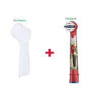 Насадка для детской электрощетки Oral-B (Star Wars) 1 шт.  + защитный колпачок, фото 1