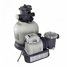 Пісочний фільтр-насос Intex 26646 для очищення води в басейні