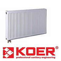 Радиатор стальной Koer 22 тип 500х1000 (нижн.подкл)