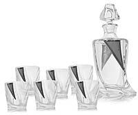 Набор для виски Cardiff (графин + 2 стакана)