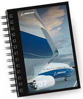 Блокнот Boeing 737 Image Spiral Notebook 470047030004 (Black), фото 1