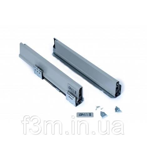 Система для выдвижения ящиковPROBOX Grass Hopper: L=350 мм, без крепления задней стенки,СЕРЫЙ