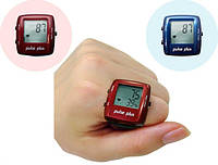 Пульсометр - кольцо на палец Pulse Plus iD503. Красный, фото 1