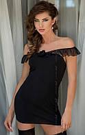 Платье Adeline - black M-L