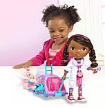 Кукла Доктор Плюшева Оригинал от Disney с мобильной клиникой Doc McStuffins, фото 2