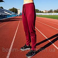 Бордовые женские спортивные штаны, фото 2
