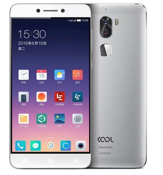 "Смартфон LeEco Coolpad Cool 1 4/32Gb Silver, 13+13/8Мп, 2sim, 5.5"" IPS, 4060mAh, Snapdragon 652, LeTV"